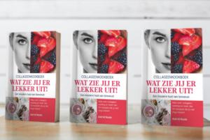 Collageen kookboek wat zie jij er lekker uit auteur Astrid Koole