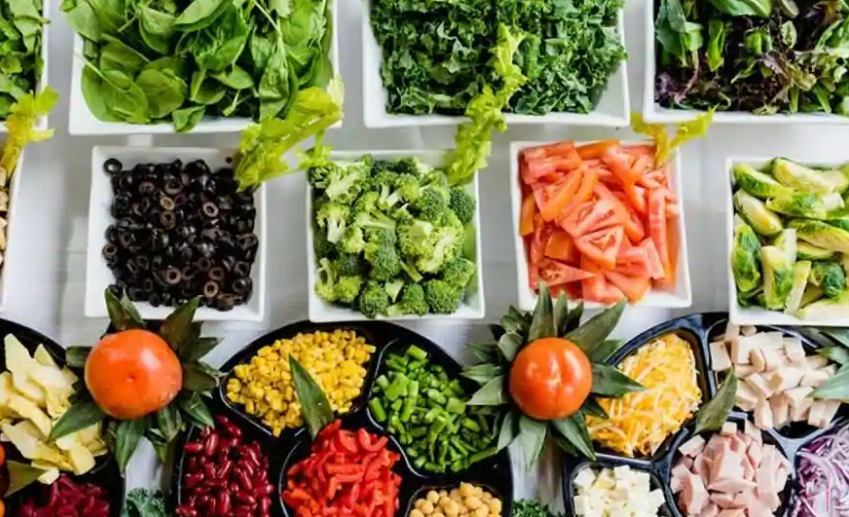 Groenten fruit noten Voeding is een belangrijk ingrediënt voor de cognitieve gezondheid van mensen in de middelbare leeftijd