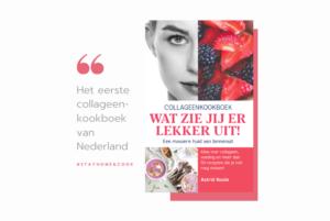 quote van het eerste collageenkookboek van Nederland