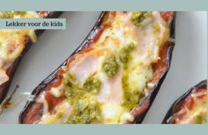 mini pizza van aubergine