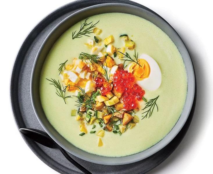 Courgette karnemelk soep